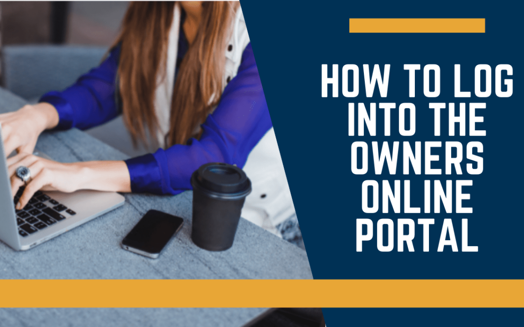 How to Log into the Owners Online Portal