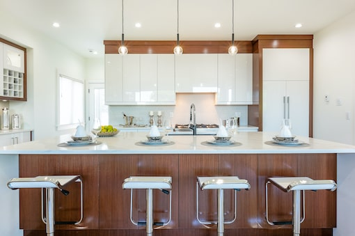 An image of a kitchen island